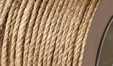 sisal ropes supplied in full length coils direct