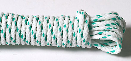 polyester braided cord part of the james lever range of manufactured ropes and cords