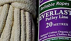 pulley rope nylon jute polyproplyene