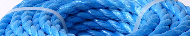 polypropylen rope coloured lorry poly ropes