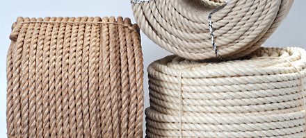 ropes coils for export sales